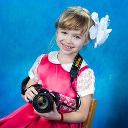 Детский выпускной фотоальбом портреты_