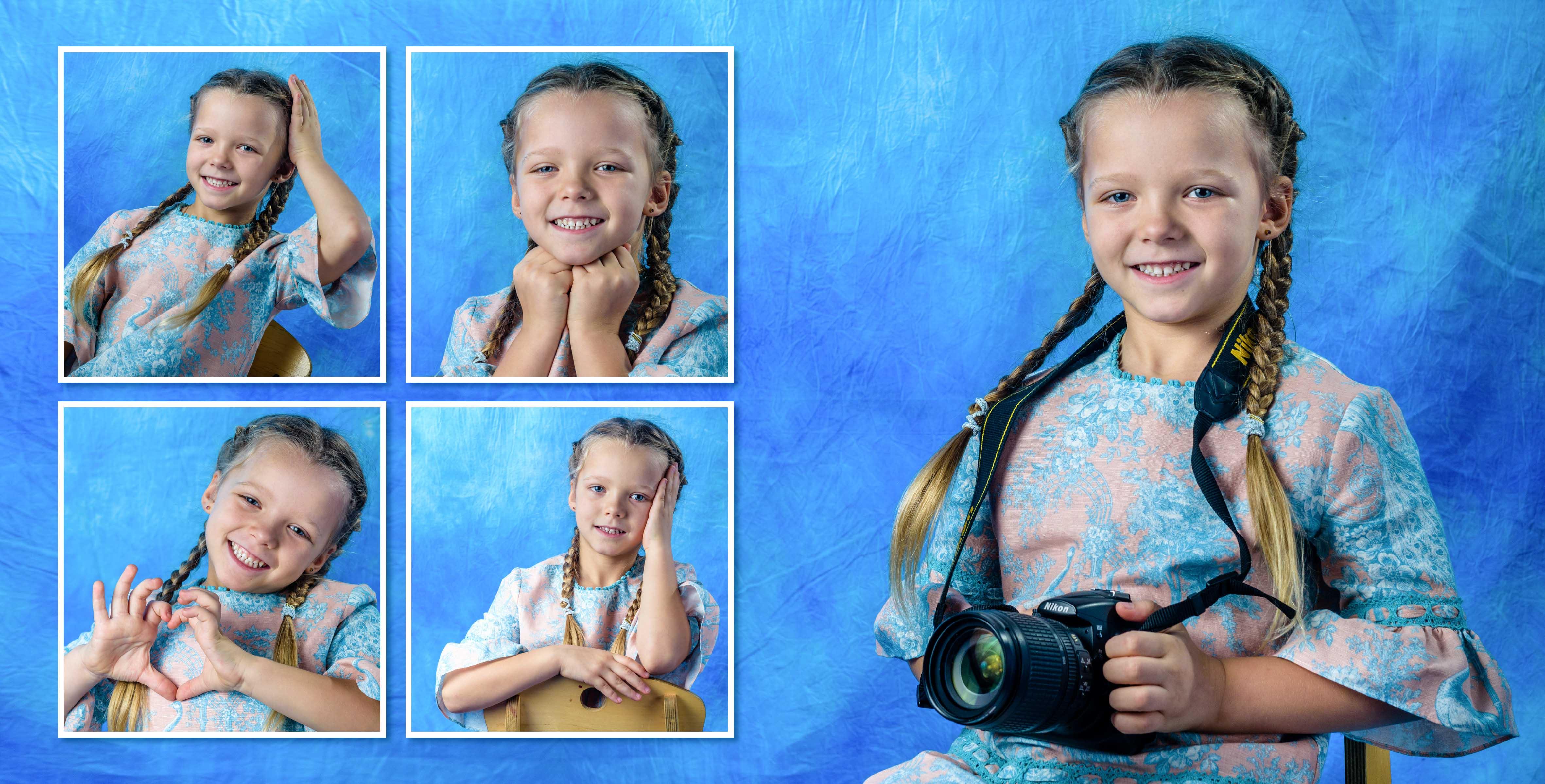Портретная фотокнига