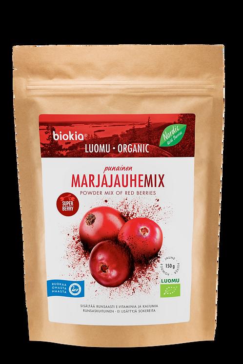 Baies rouges sauvages bio en poudre/Airelles, canneberges/Red berries
