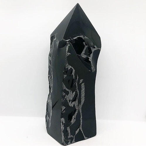 Obsidian Top Polished Point