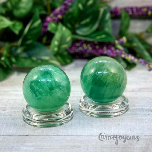 Green Fluorite Sphere, 50mm