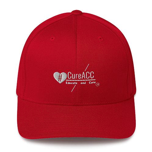 """""""CureACC Logo"""" Structured Cap"""