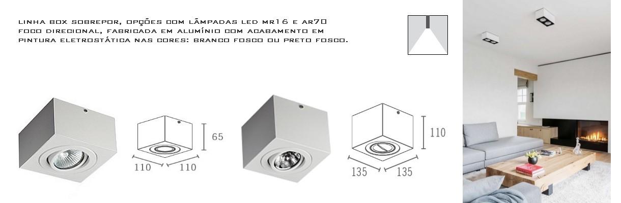 SPT 3012 (GU10)/ SPT 3013 (AR70)