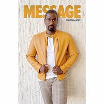 Gerald Garth for Message Magazine Cover.