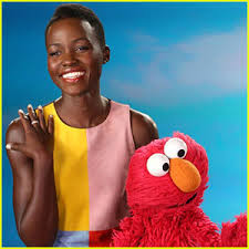 Lupita on Sesame Street