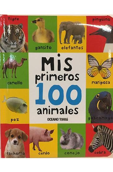 MIS PRIMEROS 100 ANIMALES. VV.AA.
