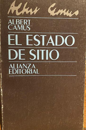 EL ESTADO DE SITIO. CAMUS, ALBERT