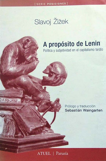 A PROPÓSITO DE LENIN. ZIZEK, SLAVOJ