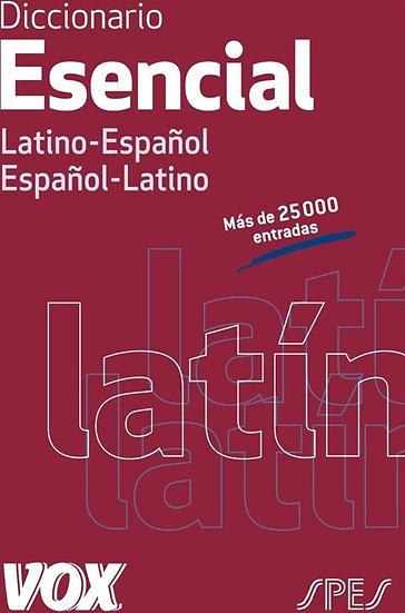 DICCIONARIO ESENCIAL LATINO-ESPAÑOL. VOX
