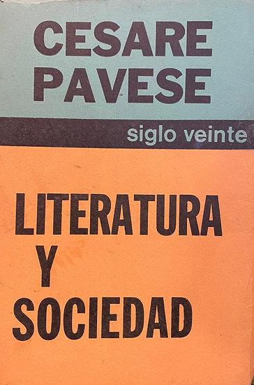 LITERATURA Y SOCIEDAD. PAVESE, CESARE