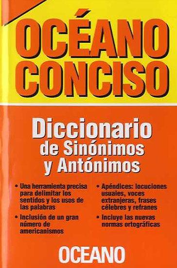 DICCIONARIO DE SINÓNIMOS Y ANTÓNIMOS (OCÉANO CONCISO)