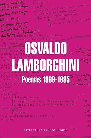 POEMAS 1969-1985. LAMBORGHINI, OSVALDO