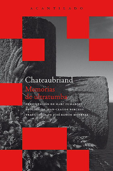 MEMORIAS DE ULTRATUMBA (BOX SET DE 4 TOMOS). CHATEAUBRIAND