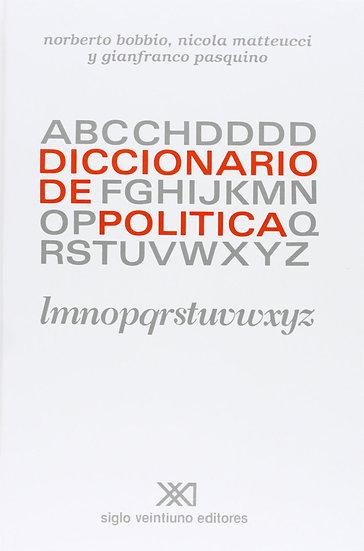 DICCIONARIO DE POLÍTICA (2 TOMOS). BOBBIO, N. - MATTEUCCI, N. - PASQUINO, G.