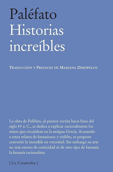 HISTORIAS INCREÍBLES. PALÉFATO