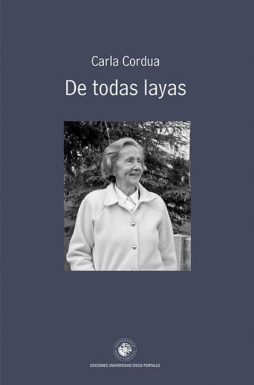 DE TODAS LAYAS. CORDUA, CARLA