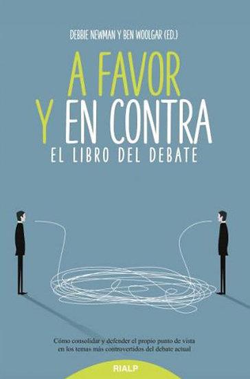 A FAVOR Y EN CONTRA: EL LIBRO DEL DEBATE. VV.AA.