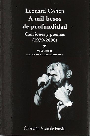 A MIL BESOS DE PROFUNDIDAD - VOLUMEN II. COHEN, LEONARD