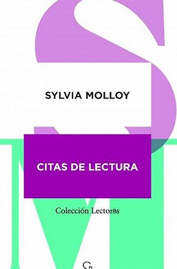 CITAS DE LECTURA. MOLLOY, SYLVIA