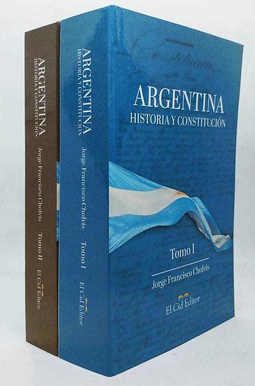 ARGENTINA: HISTORIA Y CONSTITUCIÓN (2 TOMOS). CHOLVIS, J.F.