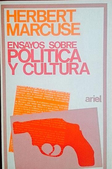 ENSAYOS SOBRE POLÍTICA Y CULTURA. MARCUSE, HERBERT