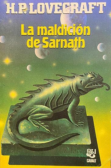 LA MALDICIÓN DE SARNATH. LOVECRAFT, H.P.