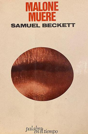 MALONE MUERE. BECKETT, SAMUEL