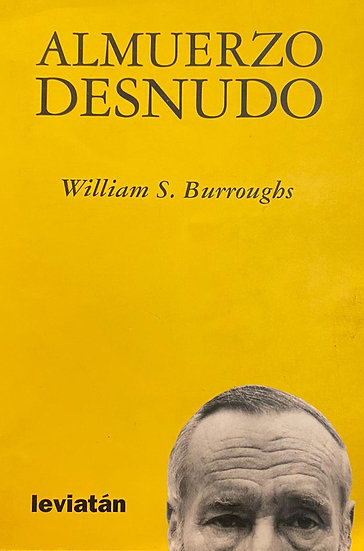 ALMUERZO DESNUDO. BURROUGHS, WILLIAM S.