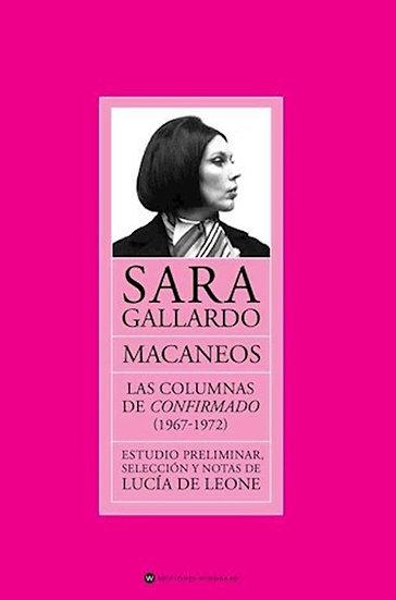 MACANEOS: LAS COLUMNAS DE CONFIRMADO (1967-1972). GALLARDO, SARA