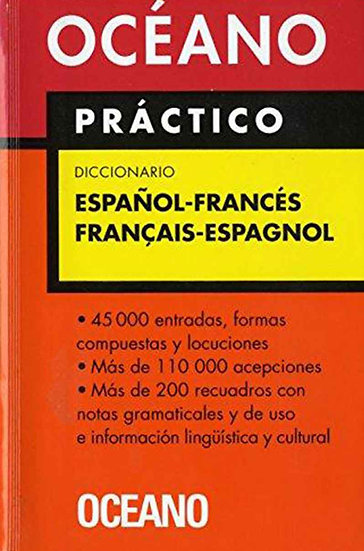 DICCIONARIO ESPAÑOL-FRANCÉS (OCÉANO PRÁCTICO)