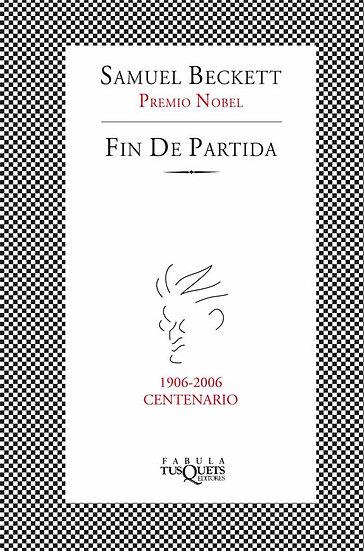 FIN DE PARTIDA. BECKETT, SAMUEL