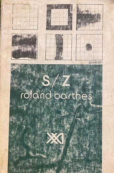 S/Z. BARTHES, ROLAND