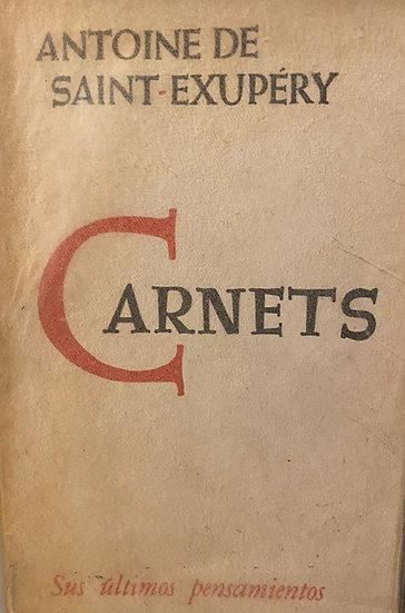 CARNETS. DE SAINT-EXUPÉRY, ANTOINE