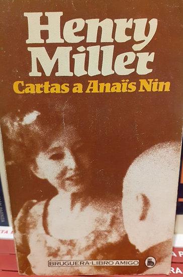 CARTAS A ANAÏS NIN. MILLER, HENRY
