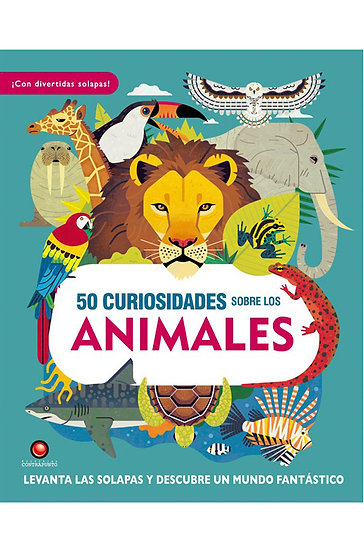 50 CURIOSIDADES SOBRE LOS ANIMALES. PETTY, WILLIAM