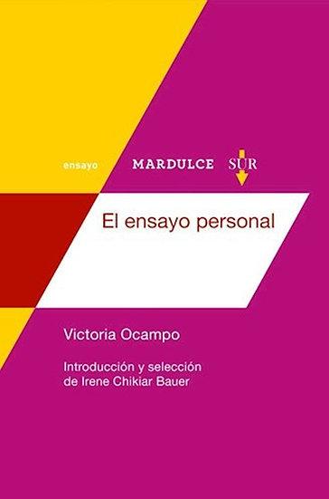 EL ENSAYO PERSONAL. OCAMPO, VICTORIA