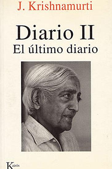 DIARIO II. KRISHNAMURTI, J.