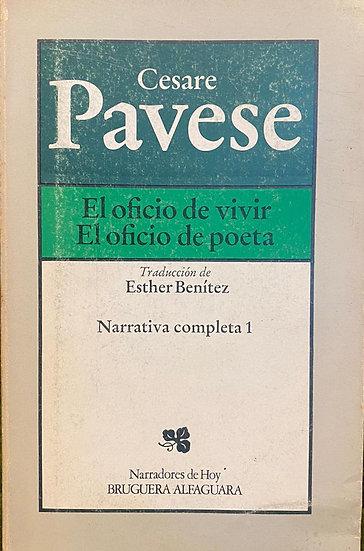 EL OFICIO DE VIVIR / EL OFICIO DE POETA. PAVESE, CESARE