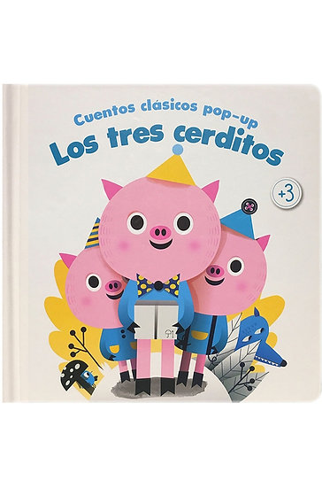 CUENTOS CLÁSICOS POP-UP: LOS TRES CERDITOS.