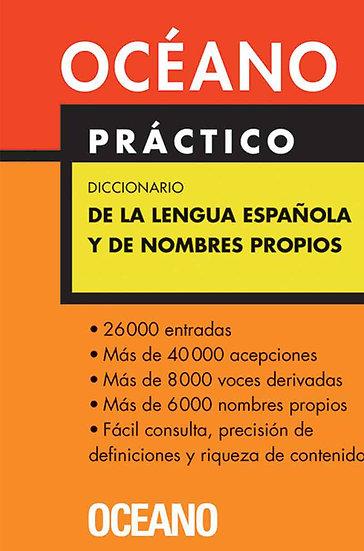 DICCIONARIO DE LA LENGUA ESPAÑOLA Y DE NOMBRES PROPIOS (OCÉANO PRÁCTICO)