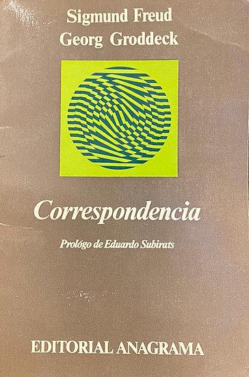 CORRESPONDENCIA. FREUD, SIGMUND - GRODDECK, GEORG