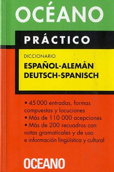 DICCIONARIO ALEMÁN-ESPAÑOL (OCÉANO PRÁCTICO)