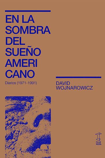 EN LA SOMBRA DEL SUEÑO AMERICANO (DIARIOS 1971-1991). WOJNAROWICZ, DAVID