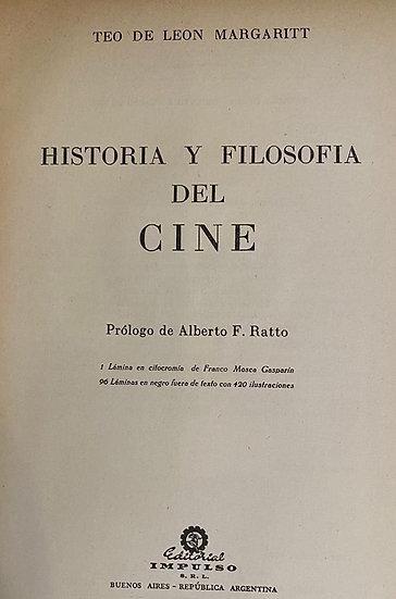 HISTORIA Y FILOSOFÍA DEL CINE. DE LEON MARGARITT, TEO