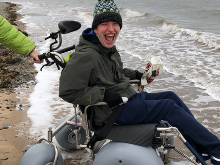 Our beach wheelchairs service resumes!