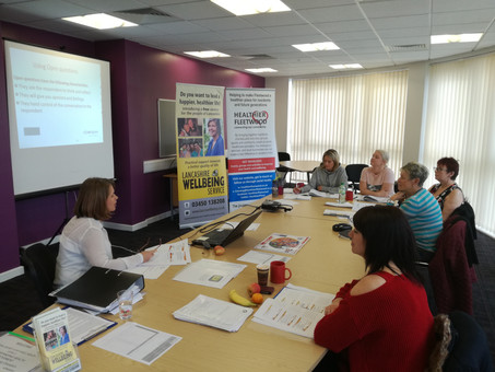 CREATING HEALTH CHAMPIONS IN FLEETWOOD