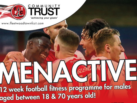 MEN ACTIVE PROGRAMME IS MAKING A DIFFERENCE!
