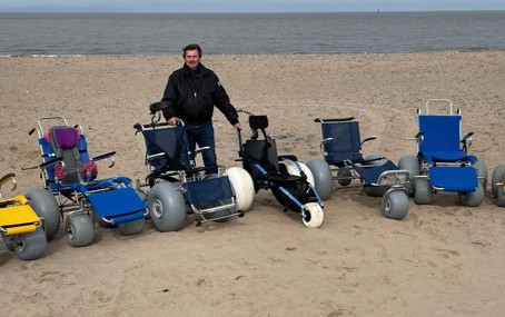 Beach Wheelchairs service to resume for Easter