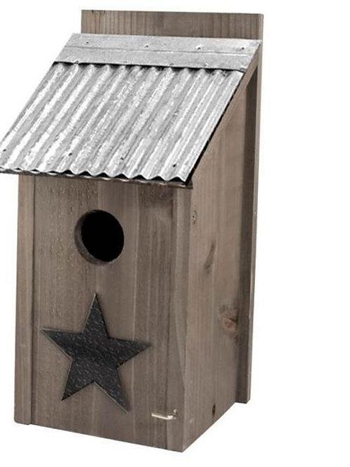 Rustic Bluebird House