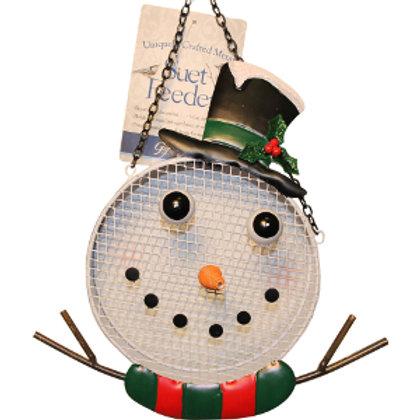 Snowman Mesh Feeder